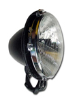 Headlamp 7 inch sealed beam and bucket kit PAIR